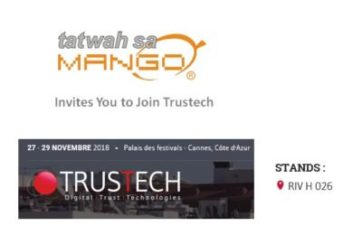 TRUSTECH 2018….. come and see us