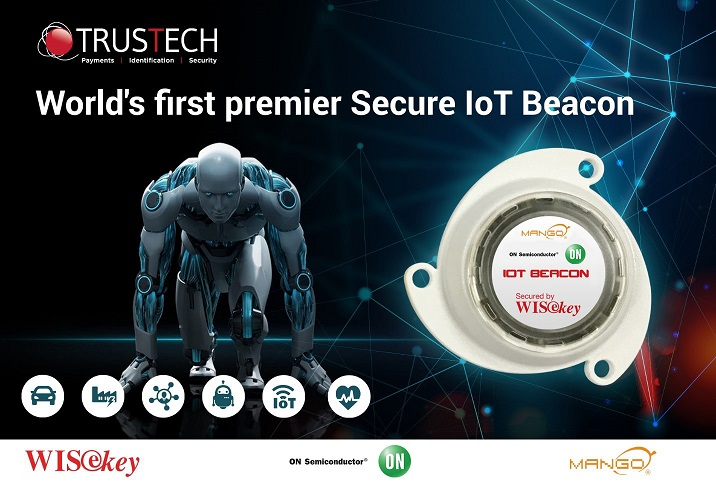 the world's first Secure IoT Beacon device.